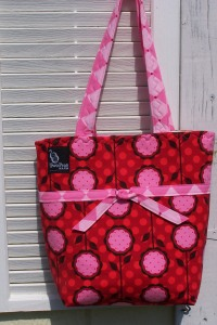 The little tie-tote in Patty Youngs Andalucia pattern