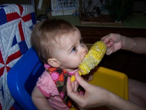 MMM! Corn on the cob!