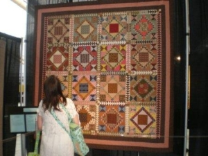 The quilts on exhibit were jaw dropping!  {Spring Quilt Market - Pittsburgh - 2009}