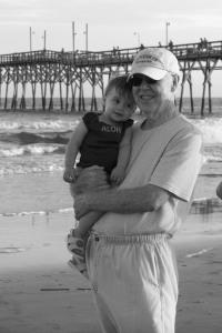 My Dad and his grandbaby