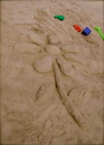 My sand flower...