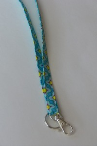 Great for teachers, nurses - anybody who needs a lanyard!  And so easy!
