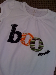 Boo!  New shirts for Halloween!