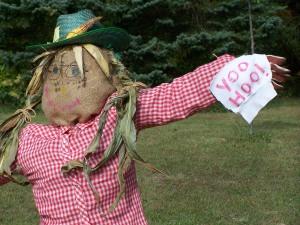 scarecrow building