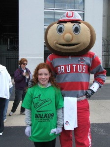 Grace and Brutus Buckeye