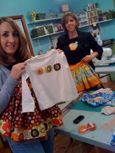 Beth and Kim - you rock!  What great seamstresses!